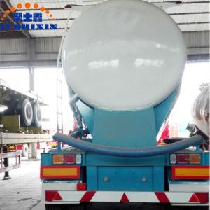 3개의 차축 대량 시멘트 실용적인 트럭 트랙터 탱크 또는 반 유조선 트레일러