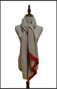平行四辺形の新しい到着最新のデザイン100%純粋なカシミヤ織のスカーフのPashminaの2018人の女性