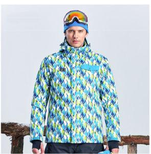 Costume de ski Windproof veste chaude de coton épais de la peau
