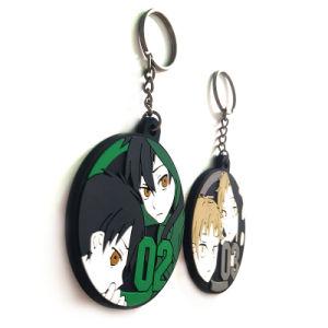 PVC su ordinazione Keychain del personaggio dei cartoni animati di film di schiocco di Funko di alta qualità