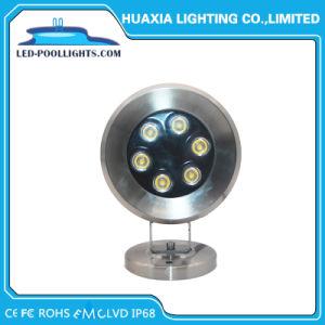 6W Swimmingpool-Lampe des Edelstahl-IP68 LED Unterwasserdes licht-LED