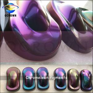 Аэрозольная краска хамелеон пигмента Kameleon автомобильная краска пигмента Китая поставщика