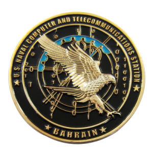 Fördernde Andenken-Geschenk-unregelmäßige Form-Metallmessingantike-Silbermünze (078)