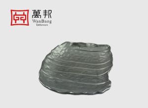 La mélamine irrégulière de la plaque d'onde carrée (140020)