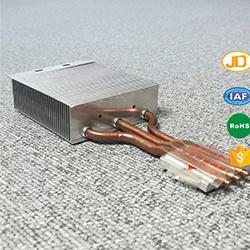 脱熱器アルミニウム脱熱器が付いているCPUのラジエーターそしてクーラー