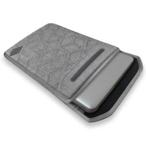 Sacoche pour ordinateur portable gaufré résistant aux chocs EVA Étui2-559 housse (FRT)