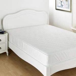 El poliéster equipado Funda de colchón/ Protector con relleno de fibra hueca Factory