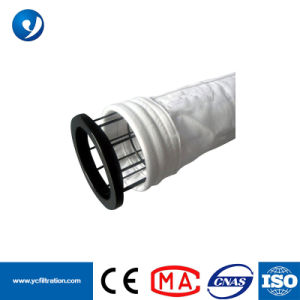 Filtro antiestático revestimiento de PTFE 550GSM 1 micras Bolsa canastilla