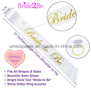 UmissペーパーBacheloretteの装飾キットの結婚式の約束党はアクセサリを供給する