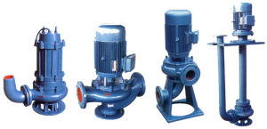 Qw (WQ) , Yw, LW, Gw Non-Blocking eficiente de la bomba de aguas residuales