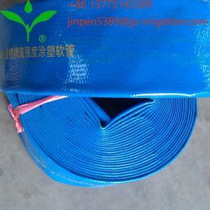 Descarga de agua de riego Agricultura Jinpen PVC flexible Layflat