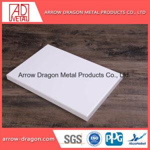 Огнеупорные алюминиевые твердых лист для монтажа на стену оформление