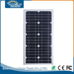 IP65 12Wの屋外の照明太陽ランプの統合された太陽街灯