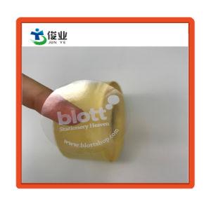 Custom прозрачный пластмассовый клей на наклейке в рулонах