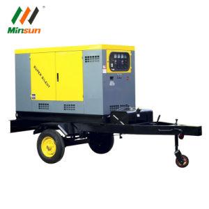 25kVA - 625kVA Trailer refrigerado por agua/eléctrico generador silencioso Generador Diesel