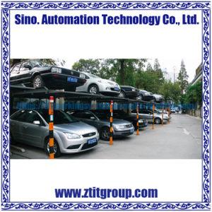 Levantamiento de boxes Spj Parking System, Sistema de estacionamiento mecánico
