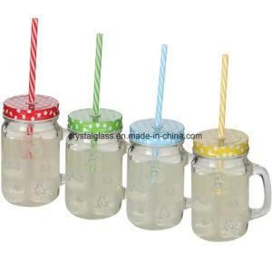 Maurer-Glas-Becher mit Griff 15oz