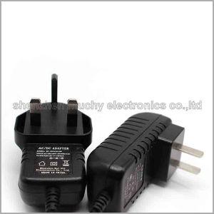 UK Plug 12V1a адаптер постоянного тока с сертификат CE