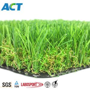 La maggior parte della erba artificiale del giardino durevole popolare che modific il terrenoare l'erba della decorazione
