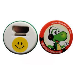 Cmykの印刷の通関サービスのプラスチックDecirativeボタンのバッジ(026)