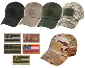 El respaldo de gancho y bucle personalizada bandera de EE.UU parches para gorras/prenda o prendas de vestir