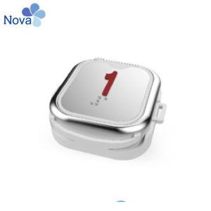 Нажмите кнопку Nv1506 красный свет без Braile