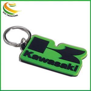 Het promotie Nieuwe Licht van Keychain van het Ontwerp met Aangepast Embleem