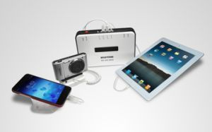 Для настольных ПК для защиты от краж Multi Alarm устройство для мобильных телефонов и ноутбуков и планшетных ПК дисплей