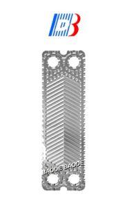 Acier inoxydable/ Ti/ Les plaques de SMO pour Tl10b de la plaque de joint échangeur de chaleur