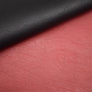 Imitação de couro laminado de PVC em relevo uma esponja para sacos de couro