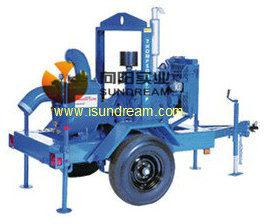 Impulsado por motor diesel de autocebado basura Bomba, Bomba de remolque móvil