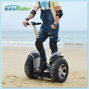 70kmの大人の電気蹴りのスクーターの倍電池のシステム均衡車
