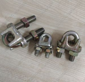 Clip de cuerda maleable de alambre del bastidor DIN741