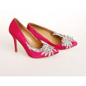 Nuevo estilo de tacón de moda zapatos de boda