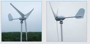 400W de kust Zee Horizontale Turbine van de Wind van de Generator van de Wind van de As