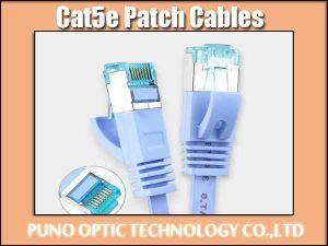 UTP Cat 5e 24 AWG de cobre de cable de red.
