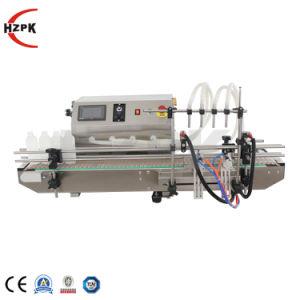 Hzpk Tfm-120y botella de agua líquida de la máquina de llenado de envases