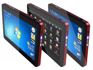 10,1дюймов (1024 * 600) сенсорного экрана планшетного ПК N455 ЦП и памяти DDR3 1g, 16g SSD, WiFi, Bt, 3G (опционально)