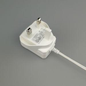 BS 센서를 위한 승인되는 영국 플러그 전력 공급 6V 1500mA 1.5A AC 접합기