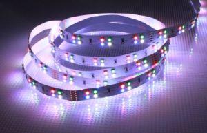 Tira de LED RGB flexibles 3528 (Impermeable IP65).