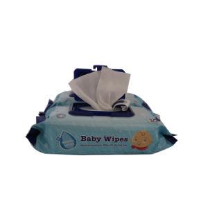 회전된 레이스 자유롭게 비 길쌈된 성숙한 냅킨 알콜 젖은 조직에 의하여 주문을 받아서 만들어지는 젖은 수건 아기 젖은 닦음 공장