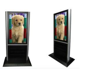 디지털 방식으로 LCD Signage 선수 (T420HW09)를 서 있는 42inch 한세트 지면