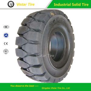Neumático Industrial, Neumático Sólido, Neumático Forklift, Neumático de Máquina Minicargadora Bobcat,