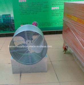 ventilatore industriale a flusso assiale del ventilatore 580X430/di ventilatore della serra ventilatore