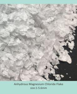 De Vochtvrije Vlokken van het magnesium van het Chloride (MgCL2)