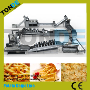 De commerciële Semi Automatische Gebraden Machine van de Productie van de Chips van Chips