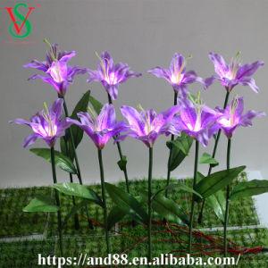 Hochzeit Deocoration blüht LED-künstliche Lilien-Blumen