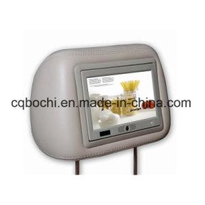 video del poggiacapo del tassì di 7-Inch Digitahi per la pubblicità con il disegno del sensore del corpo
