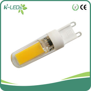 Line-Voltage COB 3W AC230V G9 LED branco quente