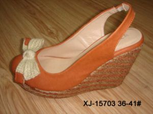Haut talon sandales (XJ-15703)